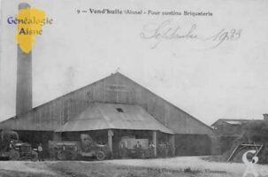 Four continu, briqueterie - Contributeur : Colette Brille