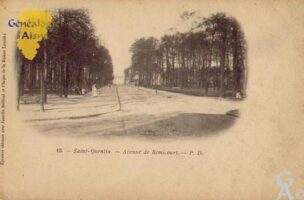 Avenue de Remicourt - Contributeur : Guy Gilkin