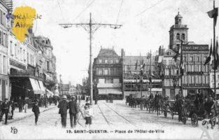 Place de l' Hôtel de Ville - Contributeur : Guy Gilkin