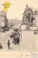monument de la Défense de 1870. - Contributeur : Guy Gilkin