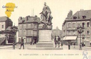 la Place et le monument du 8 Octobre 1870. - Contributeur : Guy Gilkin