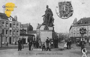 Place du 8 Octobre 1870. - Contributeur : Guy Gilkin