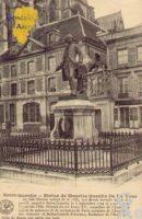 Statue de Maurice Quentin De La Tour. - Contributeur : Guy Gilkin