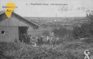 Café Bourlet, tabac - Contributeur : Colette Brille