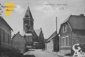 Rue de l'église - Contributeur : Colette Brille