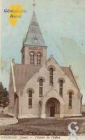 L'entrée de l'église - Contributeur : Colette Brille