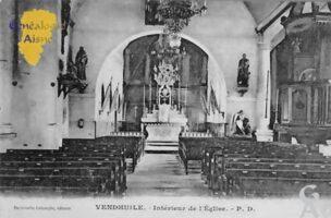 Intérieur de l'église - Contributeur : Colette Brille