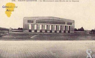 le monument aux morts de la guerre. - Contributeur : Guy Gilkin