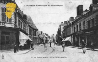 rue Saint Martin - Contributeur : Guy Gilkin