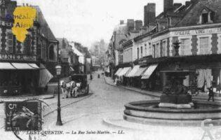 carrefour rues Saint Martin et Emile Zola - Contributeur : Guy Gilkin