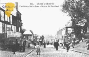 Faubourg Saint Jean, route de Cambrai - J.F. Kennedy - Contributeur : Guy Gilkin