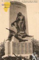 Monument érigé aux Enfants de la commune morts pour la France. - Contributeur : Michel Bouyenval