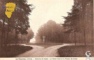 Domaine de Guise - le Rond-Point et le Poteau de Guise. - Contributeur : Michel Bouyenval