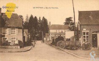 rue du cimetière - Contributeur : Michel Bouyenval