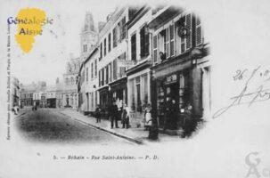 Rue Saint Antoine - Contributeur : Colette Brille