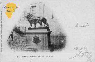 Fontaine du Lion - Contributeur : Colette Brille