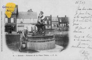 Fontaine de la place Thiers - Contributeur : Colette Brille