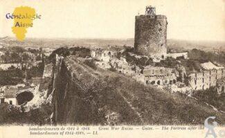 Bombardements de 1914 à 1918 - Contributeur : Michel Bouyenval