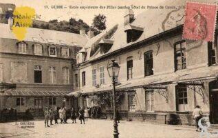 Ecole supérieure des Filles (ancien hôtel du Prince de Condé, 1926).  - Contributeur : Michel Bouyenval