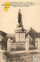 02 Aout 1925 - Inauguration du Monument élevé à la Mémoire des 20 Soldats Morts au champs d'honneur et des 5 Victimes Civiles. - Contributeur : Michel Bouyenval