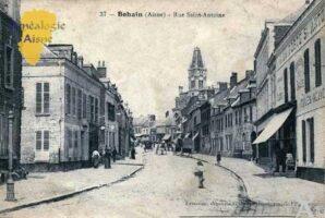 Rue Saint-Antoine. - Contributeur : Chantal Burlot