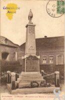 Le Boujon - Monument aux Morts de la Grande Guerre. - Contributeur : Michel Bouyenval