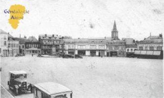 la Place Victor Hugo - Contributeur : Christiane Wéry