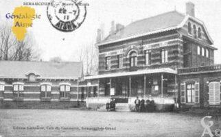 Mairie et école - Contributeur : Christiane Wéry