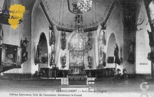 Intérieur de l'église. - Contributeur : Christiane Wéry