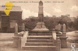 le Monument aux Morts - Guerre 1914 - 1918 - Contributeur : Michel Bouyenval