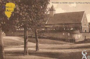 la Place et l'église - Contributeur : Michel Bouyenval