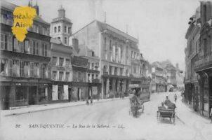 La rue de la Sellerie - Contributeur : Colette Brille