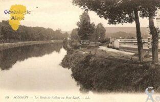 les bords de l'Aisne au Pont neuf - Contributeur : Michel Bouyenval