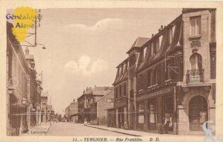 Rue Franklin - Contributeur : Michel Bouyenval
