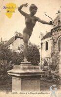 Statue de la Chapelle des Templiers. - Contributeur : Michel Bouyenval