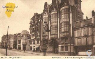 Rue d'Isle, l'Ecole Municipale de musique. - Contributeur : Michel Bouyenval