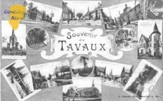 Souvenirs de Tavaux et Pontsericourt - Contributeur : C. Wery