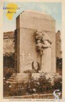 Monuments aux Morts - Contributeur : Evelyne Dameron