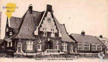 La mairie et les écoles - Contributeur : M. Séverin