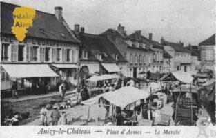 Place d'Armes - le marché - Contributeur : Guy Gilkin