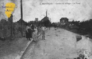 Centre du Village - La Place - Contributeur : Guy Gilkin