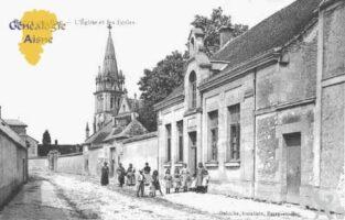 l'église et les écoles - Contributeur : Guy Gilkin