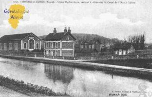 Usine Hydraulique, servant à alimenter le Canal de l'Oise à l'Aisne.  - Contributeur : Guy Gilkin