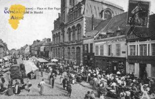 Place et Rue fagard jour de marché - Contributeur : Guy Gilkin