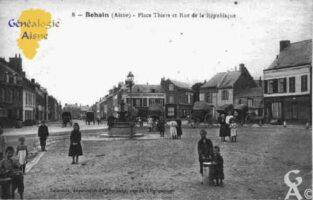 Place Thiers et rue de la République - Contributeur : Guy Gilkin