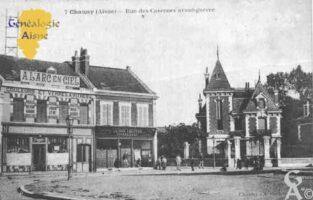 rue des Casernes - avant guerre - Contributeur : Guy Gilkin