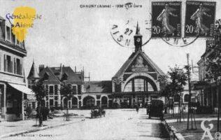 la Gare en 1926 - Contributeur : Guy Gilkin