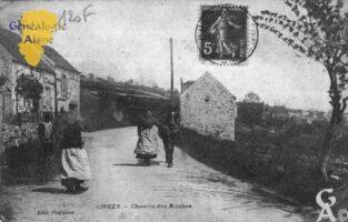 chemin des Roches - Contributeur : Guy Gilkin