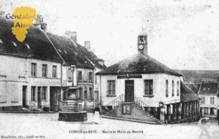 Mairie et Halles au marché - Contributeur : Guy Gilkin