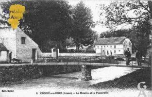 Le Moulin et La Passerelle - Contributeur : Guy Gilkin